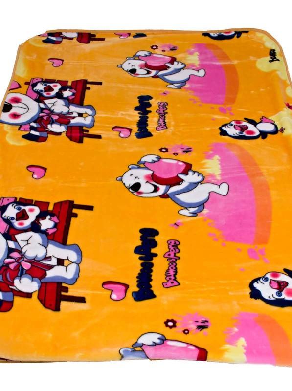 Dětská deka Homa Medvídek se srdíčkem - 110 x 140 cm
