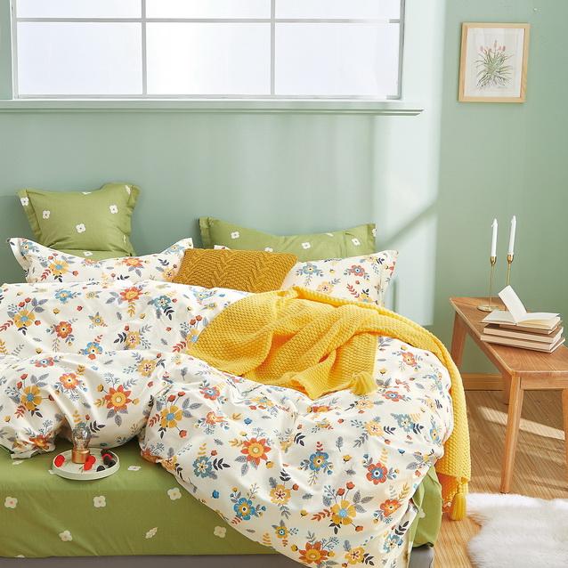Luxusní bavlněné ložní povlečení Milano62 přikrývka 140x200cm polštář 70x90cm - 140 x 200 cm - 1 x p