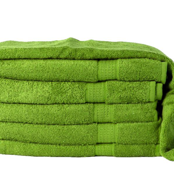 Levně Osuška Homa zelená 70x140cm - 70 x 140 cm - Zelená