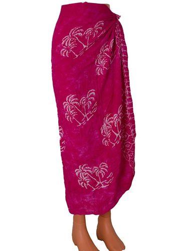 Šátek na pláž 110x130cm ružová