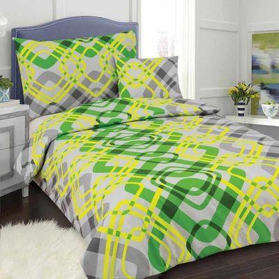 DITA 140x200cm bavlněné povlečení zelené