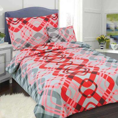 DITA červená - 140x200cm bavlna