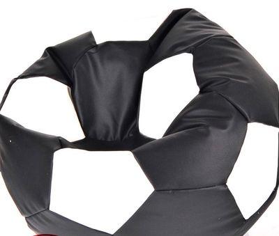 Fotbalový míč malý - sedací vak černo bílí