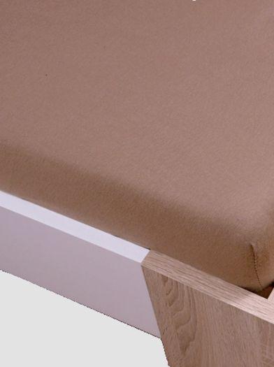 Homa jersey prostěradlo cappuccino 70x140cm