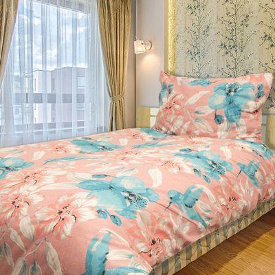 KOLIBŘÍK růžová bavlněné povlečení 140x200