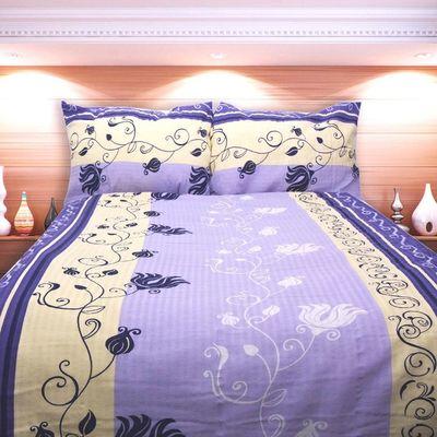 MARIANA fialové povlečení  KREP 140x200cm
