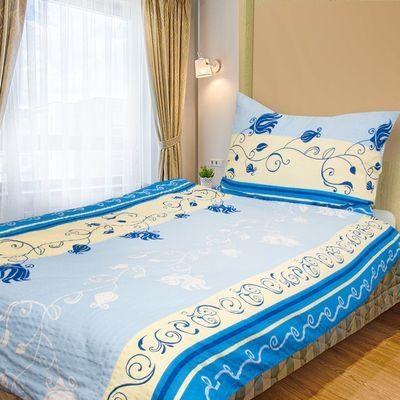 MARIANA modrá - 140x200cm bavlněné povlečení