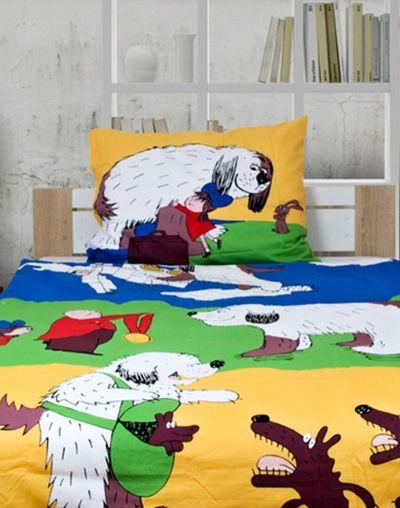 Maxi pes FÍK 140x200cm dětské bavlněné povlečení
