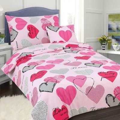 PASSION růžová bavlněné povlečení 140x200