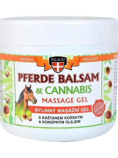 Pferde balsam Kaštan koňský s Cannabis 500 ml