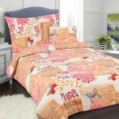 POSTCARD růžová bavlněné povlečení 140x200