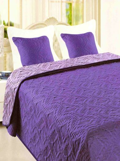 Přehoz na postel Violet-Levander 140x200cm