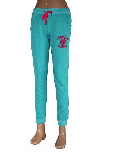 Teplákové kalhoty Athletics - tyrkysová