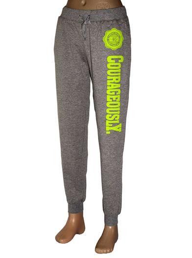 Teplákové kalhoty ndSkin - šedá