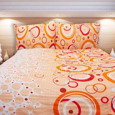 TOLEDO oranžové povlečení KREP 140x200cm