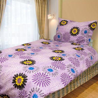 ULA fialová-140x200cm bavlněné povlečení