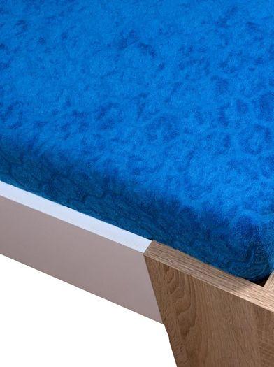 Žakar Homa prostěradlo modrá
