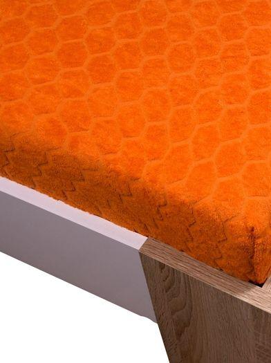 Žakar Homa prostěradlo oranžová