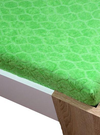 Žakar Homa prostěradlo zelená